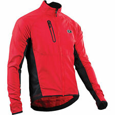 Sugoi Mens Size LG RS Zap Chili Red Biker Sport Active Jacket 5949 []