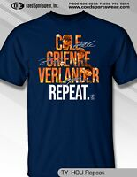 Cole, Greinke,Verlander, Repeat Houston Astros Player T-shirt
