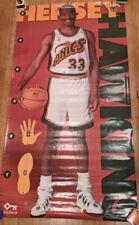 1996 Hersey Hawkins - Seattle Sonics Growth Poster - NBA Basketball