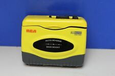 RCA All Weather Sports Stereo Portable Tape Cassette Player Walkman RP-1500A