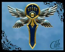 Code Geass Knight of Seven Knight Medal. Metal and enamel pin badge cosplay