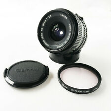 Canon New FD 28mm f/2.8 MF Wide Angle Lens