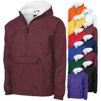 Pullover Rain Jacket, Windbreaker, Charles River Apparel 9905