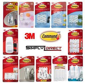 3M COMMAND Hooks, Mini, Utility, Ceiling, Jumbo, Large, Nickel, Designer Hooks