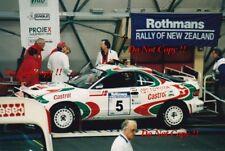 Juha Kankkunen Toyota Celica Turbo 4WD Rally New Zealand 1993 Photograph 4