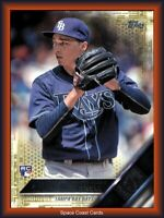 2016 Topps Update Blake Snell Gold RC Rookie Card US67 /2016 Tampa Rays