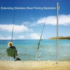 Fishing Bankstick Adjustable Carp Bank Stick Fishing Rod Rest Bite Alarm C5X2