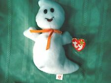 Ty SPOOKY the Ghost1995 NO STAR, misspelled on tush tagPVC pelletsCollector#4090