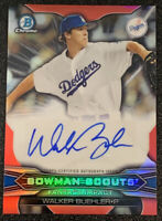 2015 Bowman Chrome Scouts Walker Buehler RC AUTO #d /99 Autograph Rookie - MINT!