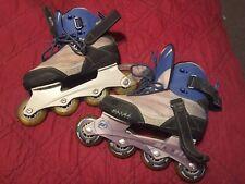 Women's Ultra Wheels Abec 7 Bioflex Inline Skates Roller Blades Size 7