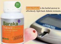 Baraka Diabsol Advanced 30 Capsules Diabetic Torments 100% Herbal Remedy