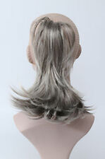 Gray Ponytail Hair Extensions For Sale In Stock Ebay