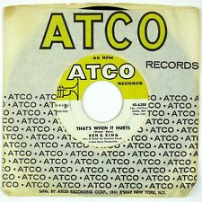BEN. E KING That's When It Hurts/Around The Corner 7IN 1964 NORTHERN SOUL NM-