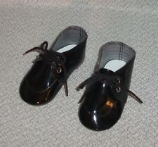 Black patent boy shoes: for Wheeler the Dealer & Simon Degree Whimsie Doll