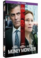 "DVD ""MONEY MONSTER"" George Clooney, Julia Roberts      neuf sous blister"