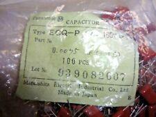 (100 pcs) ECQ-P1752FZ Panasonic,  .0075uF 100V 1%, Polypropylene Film Capacitor