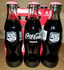 Coca-Cola Celebrates 100 Seasons GREEN BAY PACKERS *1* 8oz bottle Football NFL