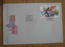 NORWAY WINTER OLYMPICS LILEHAMMER 1994 2 STAMP SET FDC 1993