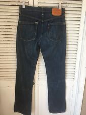 Levi's Capital E 501 Blue Line Selvedge Jeans Made In USA Men's 29x32