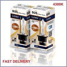 2 x D2S NEUF LUNEX XENON HID AMPOULE LAMPS compatible 85122 66040 66240 53500 CM