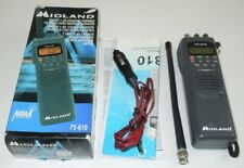 Midland 75-810 CB Radio 40 Channel NOAA Portable Handheld Antenna Adapter WORKS
