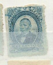 Mexico 1879 early Juarez Issue Fine Used 10c. 310933