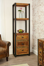 Baumhaus Urban Chic Funky Alcove Bookcase (with drawers) - Reclaimed Wood