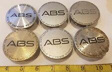 (6) PONTIAC GRAND PRIX ABS WHEEL CENTER CAPS HUB CAPS {HC200}