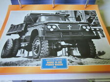 Super trucks obras camiones estados unidos Dodge W 500 power wagon 1962