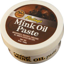 Fiebing's Original Mink Oil Leather/Vinyl Preserver Conditioner Waterproof 6 oz