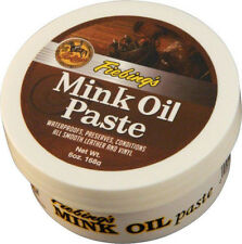 Fiebing's Original Mink Oil Leather/Vinyl Preserver Conditioner Waterproof 6 oz