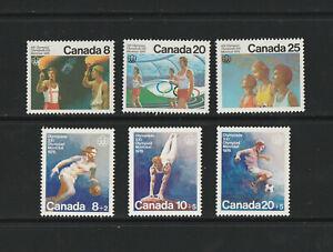Kanada: Olympia 1976 2 kompl. postfr. GA