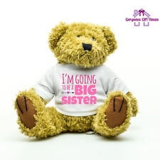 More details for i'm going to be a big sister teddy bear, pregnancy announcement gift for child