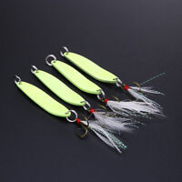 5/7/10/13g Luminous Night Fishing Lures Artifical Paillettes Bait Hook Tackle