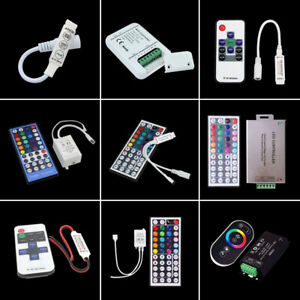 11/17/44 Keys RF IR Remote Wireless  Controller For 3528 5050 LED Strip Lights