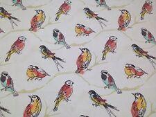 "BRYANT PERCH JUBILEE BIRD DESIGNER INDOOR OUTDOOR FABRIC BY YARD 54""W"
