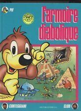 CORTEGGIANI. CLOD: PIF. L'ARMOIRE DIABOLIQUE. VAILLANT. 1986.