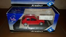 Peugeot 205 GTI ROUGE - N°1508 - SOLIDO TO DAY