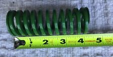 1 1/2 DIA X 4 LONG, HEAVY DUTY GREEN DIE SPRING, Rectangle spring profile