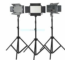 Godox 1500 3X 500 LED Studio Video Continuous Light Kit For Camera Camcorder