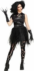 Cut Up Girl ADULT Womens Costume Dress Gloves Tights NEW Edward Scissorhands