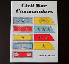 Civil War Commanders by Dean S. Thomas (1986, Paperback)