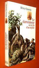 CHAUVIN Rémy. Le darwinisme ou la fin d'un mythe. 1998. TRES BON ETAT.