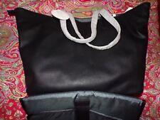 POTTERY BARN KIDS Presidio Vegan Leather Diaper BAG Tote, NEW