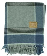 Wool Plaid Wool Blanket Plaid Cover Sofa Cover Blankie 130x180, 100% Wool