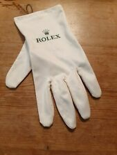 Rolex Microfiber Left Hand Presentation/Cleaning Glove (White) Size Medium (M)