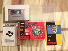Super Mario World Super Nintendo SNES Complet (Zelda, Megaman)