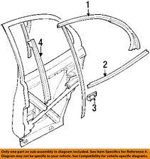 Saturn GM OEM 96-02 SL2 Exterior-Rear-Applique Window Trim Left 21172101