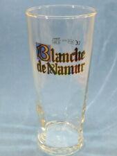 Beer Drink Glass ~ Brasserie du Bocq Blanche de Namur Wit ~ Sahm .25l ~ Belgium