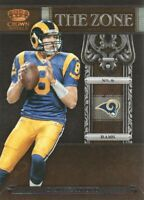 2011 Crown Royale The Zone NFL Football #15 Sam Bradford St. Louis Rams
